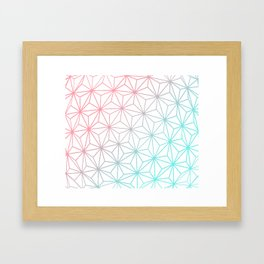 Geo Sphere Framed Art Print