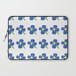 Blue Daisies Laptop Sleeve