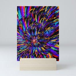 Mardi Gras - Celebration of Color Mini Art Print