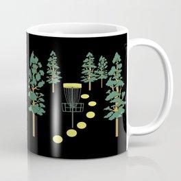 Disc Golf Stupid Trees Woods Men Women Court Gift Coffee Mug
