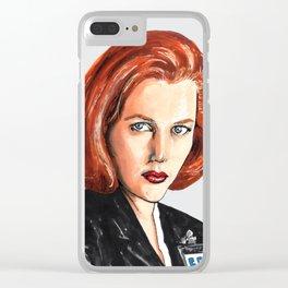Dana Clear iPhone Case