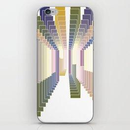 Tonal degradation White iPhone Skin