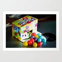 Gobstop-eggs Art Print