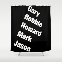 Take That. Band members. Shower Curtain