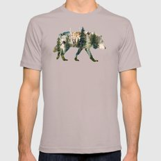 Wolf is the Pride of Nature Cinder LARGE Mens Fitted Tee