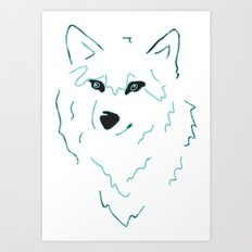 Unleashed Art Print