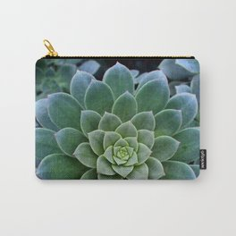 Shades of Succulent Green Carry-All Pouch