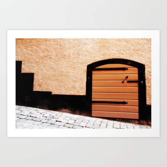 Hole In The Wall Art Print