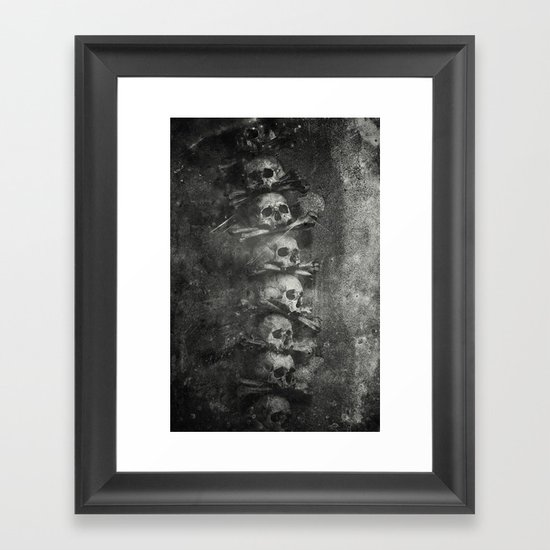 Once Were Warriors III. Framed Art Print