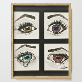 Eyes Show Emotions Serving Tray
