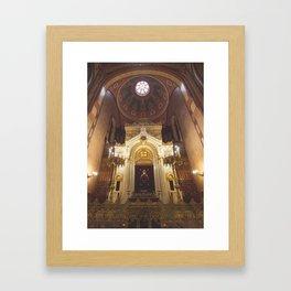 Shalom. Framed Art Print