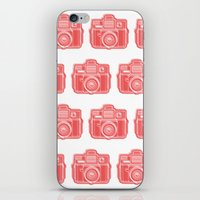 I Still Shoot Film Holga Logo - Red iPhone & iPod Skin