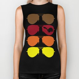Autumn Aviators Biker Tank