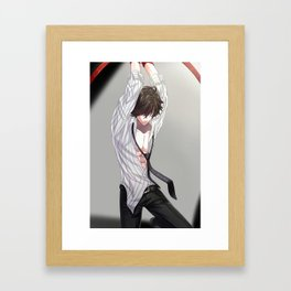 Jumin Jalapeno Framed Art Print
