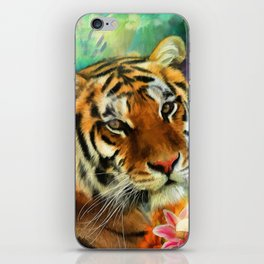 Tiger Lillies iPhone Skin