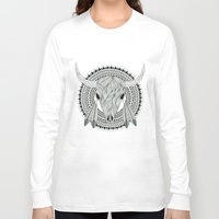 indian Long Sleeve T-shirts featuring Indian  by Rotrapid