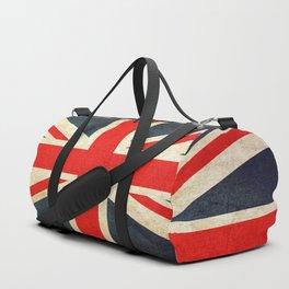 Vintage Union Jack British Flag Duffle Bag