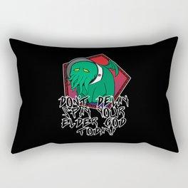 Don't Delay Spay Your Elder God Today! Rectangular Pillow