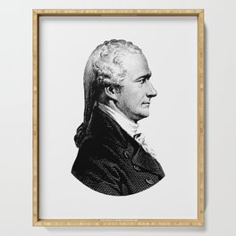 Alexander Hamilton Portrait Serving Tray