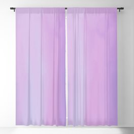 Your Child's First Smile: Pretty Emotional Abstract Oil Painting in Muted Pink, Blue, and Purple Blackout Curtain