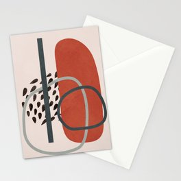 Abstract Elements 16 Stationery Cards