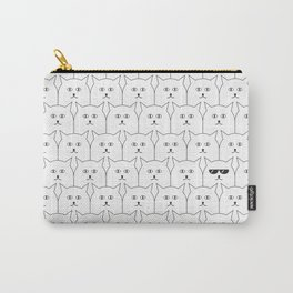 Cat Background #society6 #decor #buyart #artprint Carry-All Pouch