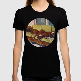 Boxer Dog Siesta T-shirt
