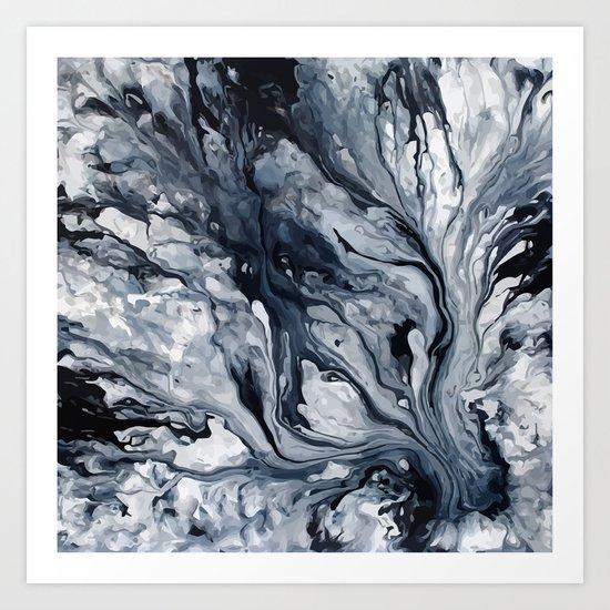 Abstract Oil Art Print