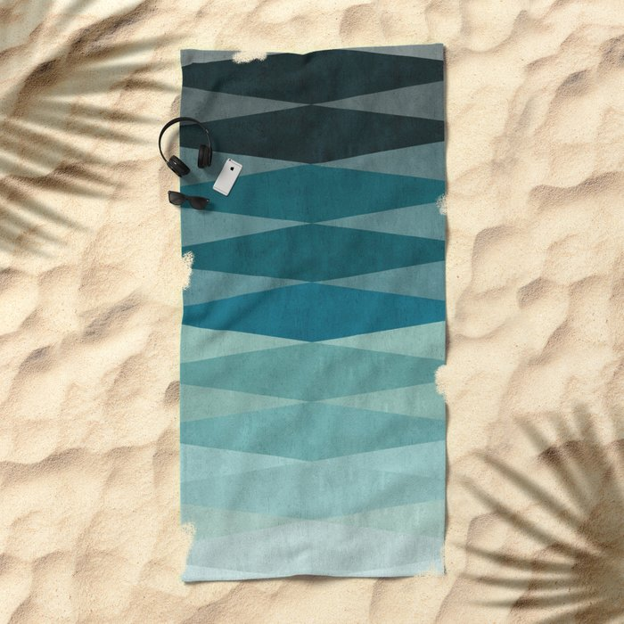 Abstract and minimalist art I Beach Towel