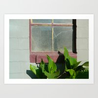 cracked Art Prints featuring Cracked by Brianna Noel Parrott