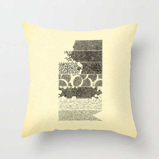 - 7_DoF - Throw Pillow