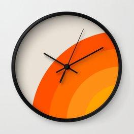 Sunrise Rainbow - Left Side Wall Clock