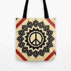 Peace Mandala Tote Bag