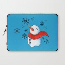Snowmen and Snowflakes Laptop Sleeve