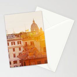 Piazza di Spagna - Rome Italy Photography Stationery Cards