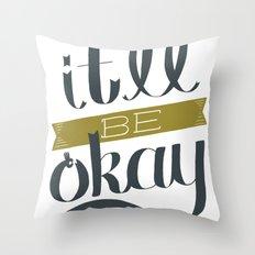 A-OK Throw Pillow
