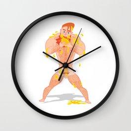Ivo Chupando Manga Wall Clock