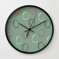 potato Wall Clocks featuring potato by LutraLutraCards