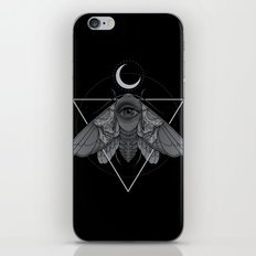 Occult Moth iPhone & iPod Skin