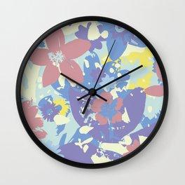 SECRET GARDEN II Wall Clock