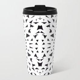 black fragments Metal Travel Mug