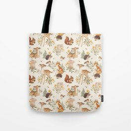 Fawn & Friends Tote Bag