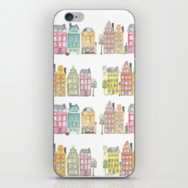 Stockholm houses iPhone Skin