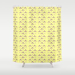Flying saucer 7 Shower Curtain