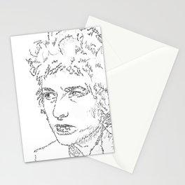 Bob Dylan WordsPortrait  Stationery Cards
