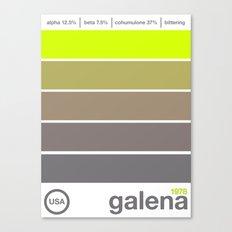 galena//single hop Canvas Print