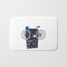 My Bicycle Bath Mat