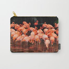 Flamingo Lagoon Carry-All Pouch