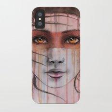 Amber Eyes Slim Case iPhone X