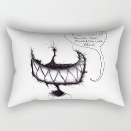 The creatures from the drain (blue no yellow) 1 Rectangular Pillow